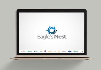 Eagles Nest Digital Presentation mock-up