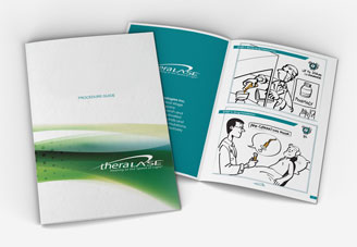 Theralase Brochure Mock-up